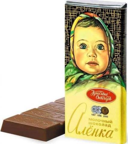 Шоколад Алёнка