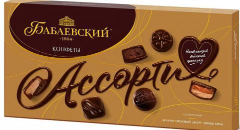 Конфеты в коробке Ассорти «Бабаевский», 280 г