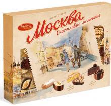 Конфеты в коробке Москва Счастливые моменты, Красный Октябрь, 177 г