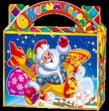 Дед Мороз на самолёте