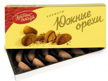 Конфеты в коробке Южные орехи, Красный Октябрь, 145 г
